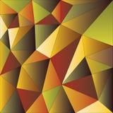 Modèle polygonal des triangles Photos libres de droits