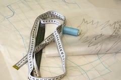 Modèle pour la couture photographie stock libre de droits