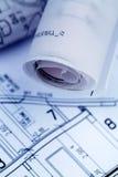 Modèle pour une maison Image stock