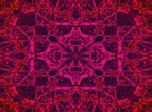 Modèle psychédélique de kaléidoscope Image libre de droits