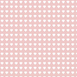 Modèle qu'on peut répéter de coeur, Rose Valentine Heart Background illustration libre de droits