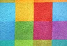 Modèle quadrillé coloré Fond Photo libre de droits