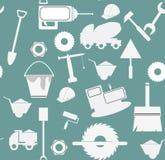 Modèle réglé d'icône de construction Photo stock