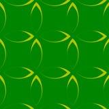 Modèle répétitif monochrome avec des formes de pétale/fleur/feuille illustration stock