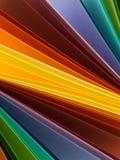 Modèle rayé abstrait coloré Photos stock