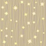 Modèle rayé avec des étoiles Images libres de droits