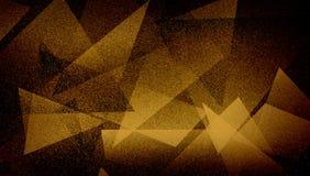 Modèle rayé et blocs ombragés par fond brun abstrait dans les lignes diagonales avec la texture brune bleue de cru photo libre de droits