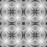 Modèle rayé monochrome sans couture de conception Photos stock