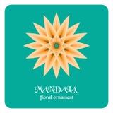 Modèle rond d'ornement Logo Template géométrique Élément décoratif de mandala Photo libre de droits