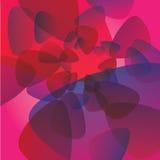 Modèle rose de lueur de fond Photo stock