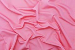 Modèle rose de tissu pour le fond et la conception Photo stock