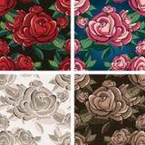 Modèle rose sans couture Photographie stock