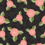 Modèle rose sans couture Photo libre de droits