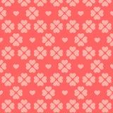 Modèle rose sans couture de coeur. Image libre de droits