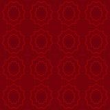 Modèle rouge Photos stock