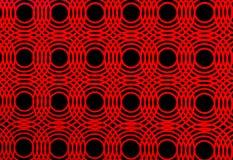 Cercle rouge Photographie stock libre de droits