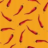 Modèle rouge de piment Photographie stock libre de droits