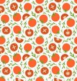 Modèle rouge de tomates Photos stock