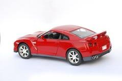 Modèle rouge de véhicule de sport en métal Image stock