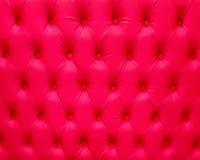 Modèle rouge luxueux de fond d'Upholstry Photographie stock libre de droits