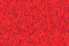 Modèle rouge sans couture de coeurs pour le fond de valentine Photographie stock libre de droits