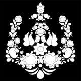 Modèle russe traditionnel feuilles et fleur différentes slaves Images stock