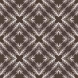 Modèle rustique de Lino Cut Texture Seamless Vector de branche de sapin d'hiver, peu précis illustration libre de droits