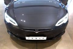 Modèle S de Tesla Images libres de droits