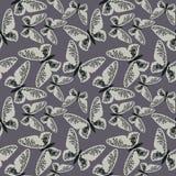 Modèle sans couture élégant avec les papillons mignons illustration libre de droits