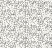 Modèle sans couture élégant floral Fond de feuille de vecteur Texture d'ornement de tissu illustration de vecteur