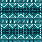 Modèle sans couture abstrait avec des places et des triangles Photographie stock libre de droits