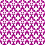 Modèle sans couture abstrait d'étoiles Illustration Stock