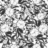 Modèle sans couture abstrait de dentelle avec des fleurs Papier peint continu, décoration pour votre conception, lingerie et bijo Photographie stock