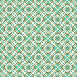 Modèle sans couture abstrait de tuile de fleur Image stock