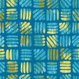 Modèle sans couture abstrait de vert de mer illustration stock