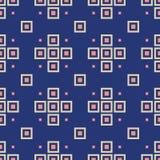 Modèle sans couture abstrait des losanges Répétition de l'ornement géométrique illustration libre de droits