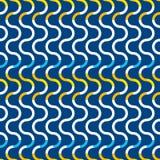 Modèle sans couture abstrait des vagues et des lignes Photo stock