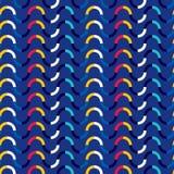 Modèle sans couture abstrait des vagues et des lignes Image libre de droits