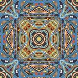 Modèle sans couture abstrait symétrique Images stock