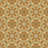 Modèle sans couture arabe avec la calligraphie islamique Photos libres de droits
