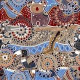 Modèle sans couture australien illustration libre de droits