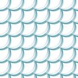 Modèle sans couture avec des échelles Image libre de droits