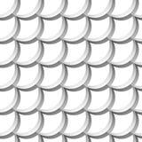 Modèle sans couture avec des échelles Images libres de droits