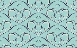 Modèle sans couture avec des arabesques dans le rétro style Image stock