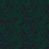 Modèle sans couture avec des branches d'olivier texture décorative b Photographie stock