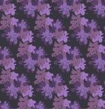 Modèle sans couture avec des fleur-taches Illustration de Vecteur