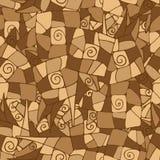 Modèle sans couture avec des fleurs, illustration florale dans Images libres de droits
