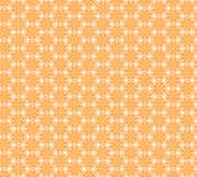 Modèle sans couture avec des oranges et des feuilles Images stock