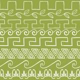 Modèle sans couture avec des ornements du grec ancien illustration libre de droits