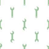 Modèle sans couture avec l'icône d'outils Image libre de droits